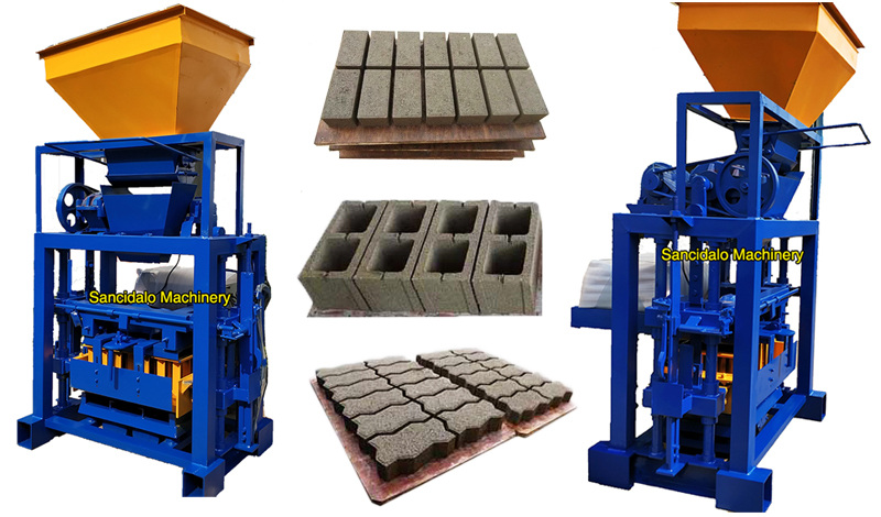 brick moulding machines for sale in botswana